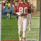 IRVING FRYAR 1992 Pro Set #246.  PATRIOTS