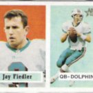 JAY FIEDLER 2002 Topps Heritage #17.  DOLPHINS