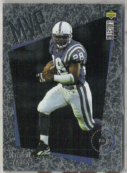 MARSHALL FAULK 1996 Upper Deck CC MVP Ins. #M21.  COLTS
