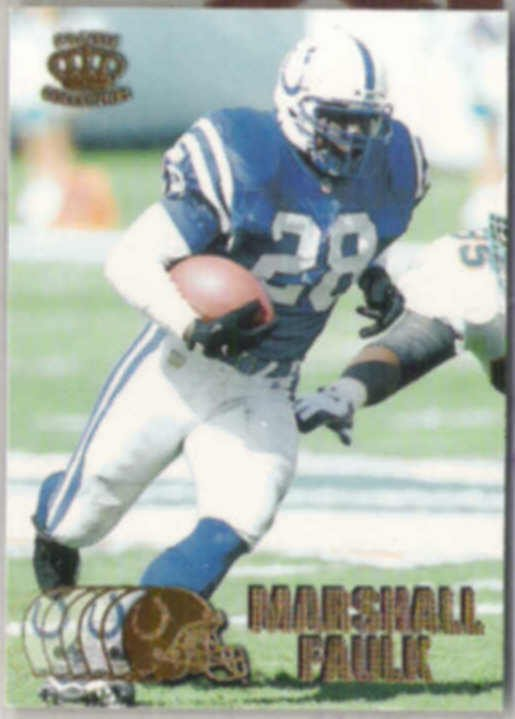MARSHALL FAULK 1997 Pacific #177.  COLTS
