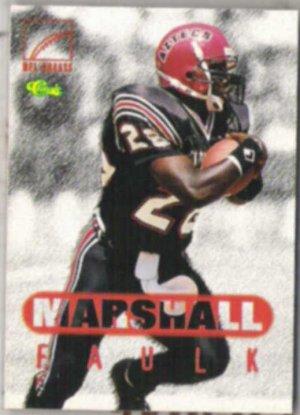MARSHALL FAULK 1996 Classic Greats #79.  COLTS