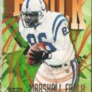 MARSHALL FAULK 1997 Skybox Impact #160.  COLTS