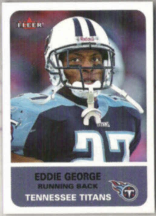 EDDIE GEORGE 2002 Fleer #158.  TITANS