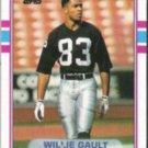 WILLIE GAULT 1989 Topps #272.  RAIDERS