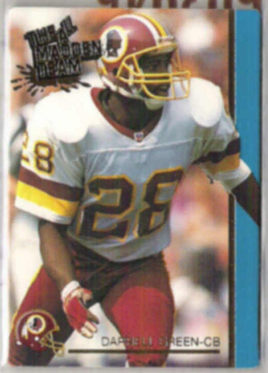 DARRELL GREEN 1992 AP All Madden #21.  REDSKINS