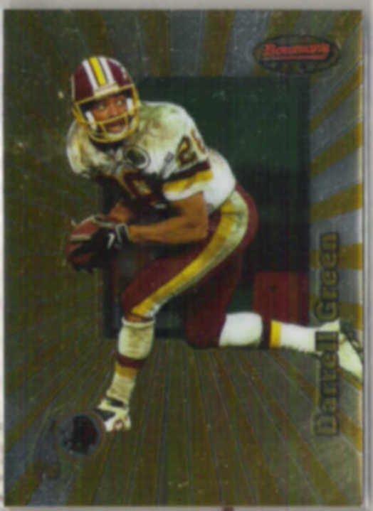 DARRELL GREEN 1997 Bowman's Best #72.  REDSKINS