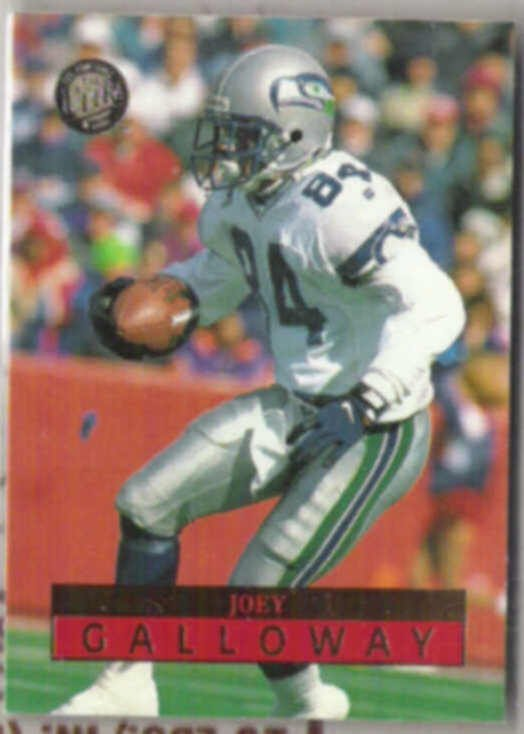 JOEY GALLOWAY 1996 Fleer Ultra #149.  SEAHAWKS
