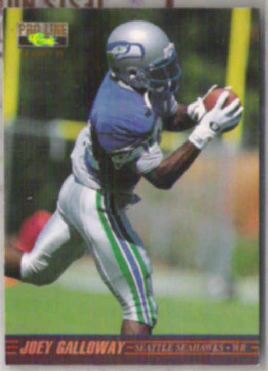 JOEY GALLOWAY 1995 Classic Pro Line Draft #56.  SEAHAWKS