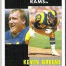 KEVIN GREENE 1991 Pinnacle #128.  RAMS
