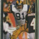 KEVIN GREENE 1990 Action Packed #137.  RAMS