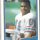 ERNEST GIVINS 1988 Topps #107.  OILERS