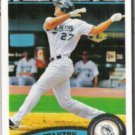 MIKE STANTON 2011 Topps #78.  MARLINS