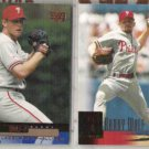 RANDY WOLF 2000 Upper Deck Debut + 2001 UD.  PHILLIES