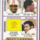 LEE ROY SELMON 1980 Topps Leaders #282.  BUCS