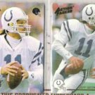 JEFF GEORGE 1992 + 1994 Action Packed.  COLTS