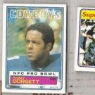 TONY DORSETT (3) Card Lot 1981 + 1983 COWBOYS