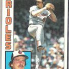 MIKE FLANAGAN 1984 Topps #295.  ORIOLES