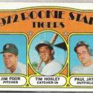TIGERS ROOKIE STARS 1972 Topps #257.  Vintage Card