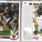 JAY HILGENBERG (2) 1991 Upper Deck #267.  BEARS