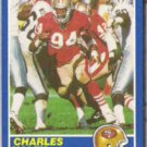 CHARLES HALEY 1989 Score #21.  49ers