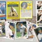TINO MARTINEZ (10) Card early 90's Lot