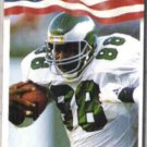 KEITH JACKSON 1992 AW Sports #129.  EAGLES
