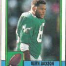 KEITH JACKSON 1990 Topps #85.  EAGLES