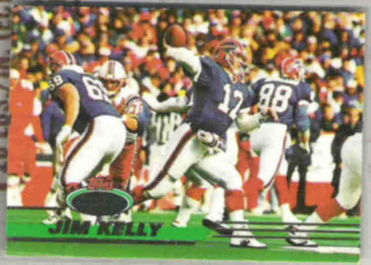 JIM KELLY 1993 Stadium Club #75.  BILLS