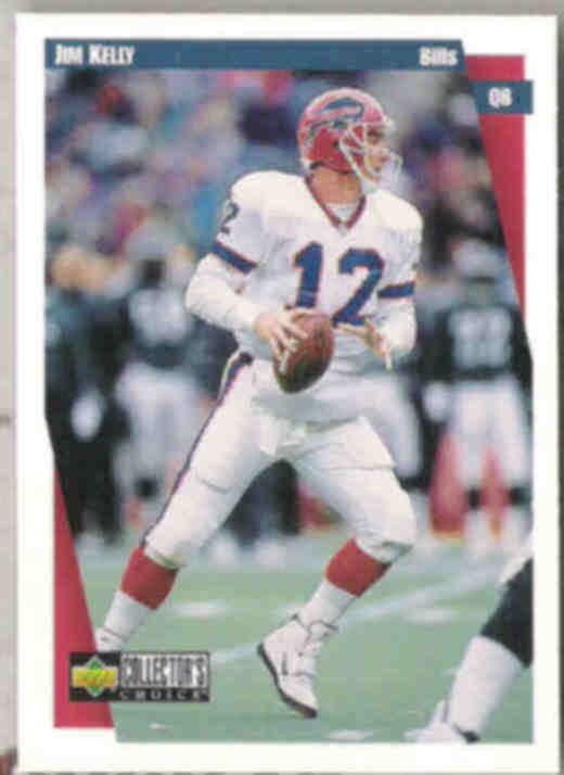 JIM KELLY 1997 Upper Deck CC #112.  BILLS