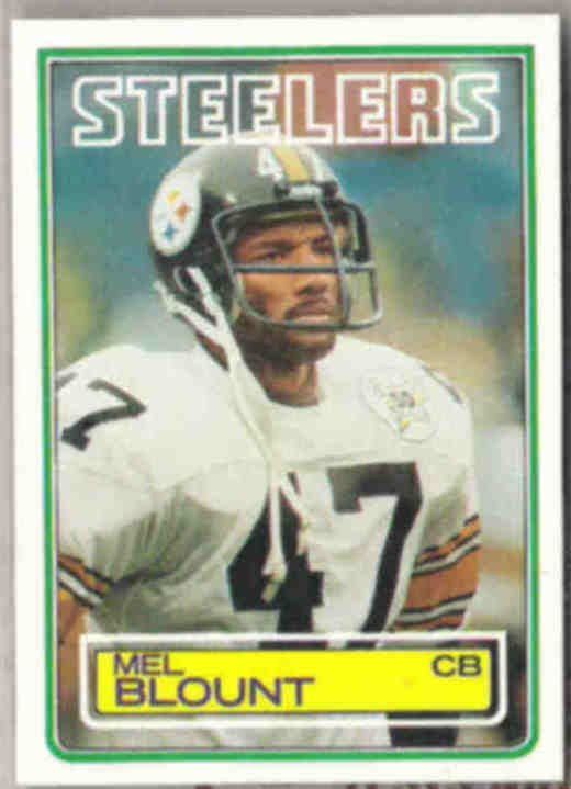 MEL BLOUNT 1983 Topps #357.  STEELERS