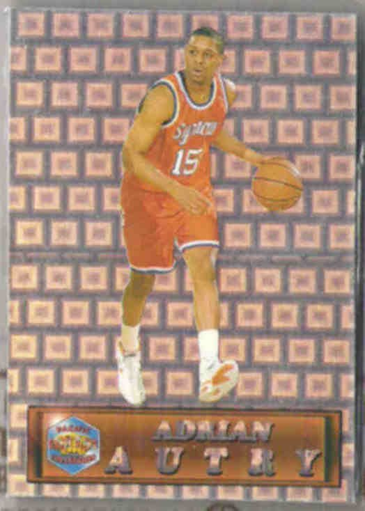 ADRIAN AUTRY 1994 Pacific Draft Prism #2.  SYRACUSE
