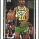 GARY PAYTON 1992 Topps GOLD Insert #184.  SONICS