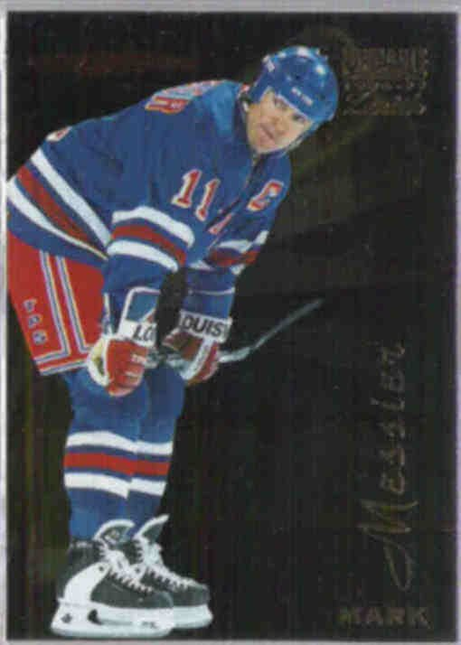 MARK MESSIER 1996 Pinnacle Zenith #94.  RANGERS