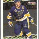 BRETT HULL 1994 Premier Black GOLD Insert #21.  BLUES