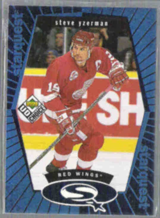 STEVE YZERMAN 1999 Starquest Ins. #SQ18.  RED WINGS