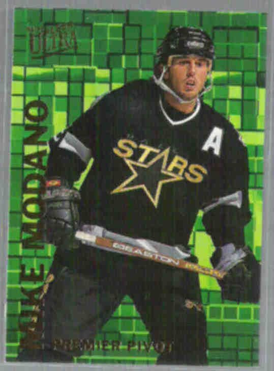 MIKE MODANO 1994 Ultra Premier Pivot Ins. #8 of 10.  STARS