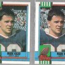 MARK KELSO (2) 1990 Topps #196.  BILLS