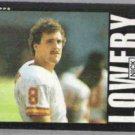 NICK LOWERY 1985 Topps #277.  CHIEFS