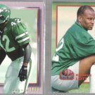 RONNIE LOTT (2) 1993 Pro Set Power Moves + Update #20.   JETS