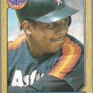 BILLY HATCHER 1987 Topps #578.  ASTROS
