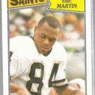 ERIC MARTIN 1987 Topps #276.  SAINTS