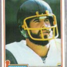 DAN FOUTS 1981 Topps #265.  CHARGERS
