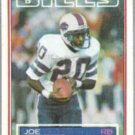 JOE CRIBBS 1983 Topps #223.  BILLS
