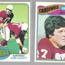 JIM HART (4) Card Topps Lot - 1975 - 1979.  CARDS
