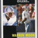 WARREN MOON 1991 Pinnacle #1.  OILERS