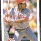 BARRY LARKIN 1990 Leaf #18.  REDS