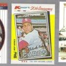 ORLANDO CEPEDA (3) Card Retro Lot (1982 + 2002) - SF / STL