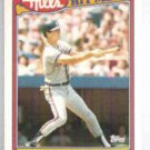 DALE MURPHY 1990 Topps Hills Hit Men #16.  BRAVES