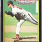 JIM ABBOTT 1992 Topps McD's Best GOLD #20 of 44.  ANGELS