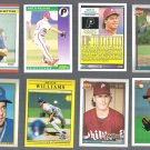 MItCH WILLIAMS (8) Card Lot (1988 - 1993)  3-Teams